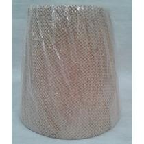 Cupula Pendente Tecido Leitura Mini 9x13x12,5 Juta Bege 1699