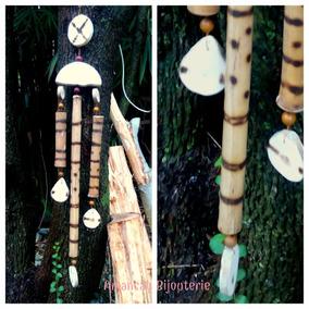 Llamadores De Ángeles De Caña Bambú 80cm Aprox