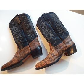 Texanas Libre Usado Altas Mercado Botas En Mujer Zapatos Cuero 1xdOF4Hq