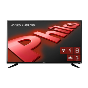 Smart Tv Led 43 Philco,full Hdconv.dig. Wifi,entrada