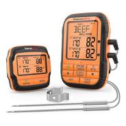 Termometro Inalambrico Thermopro Tp-28 2 Sondas Cocina Carne