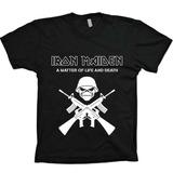 Camisas Bandas Rock - Iron Maiden - 100% Algodão!!