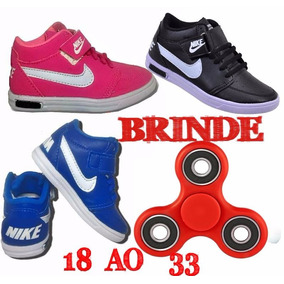Tênis Bota Botinha Sapato Nike Novo Bebe E Infantil Barato