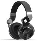 Diadema Bluetooth 4.1 Bluedio T2+, Radio Fm, Micro Sd, Negro