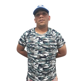 Camiseta Camuflada Camisa Masculina Exército Boy Look 4c2542d016e9d