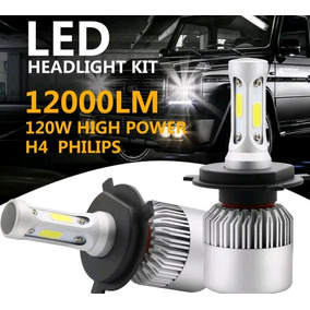 El Mejor Kit Led H4 Alta/baja Chip Phillips Ford Hilux Jeep!
