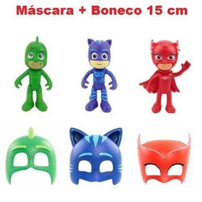 Máscaras Pj Masks Lagartixo, Corujita E Menino Gato Escolha