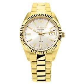 59e4fe7ead1 Relógio Technos Folheado A Ouro Orient - Relógios De Pulso no ...