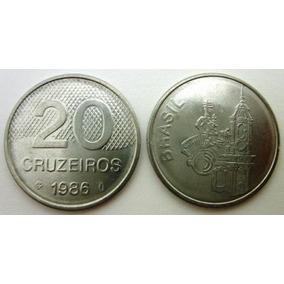 20 Cruzeiros 1986 Não Circulada