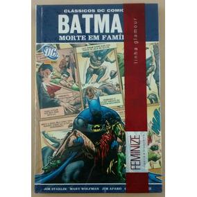 Batman Morte Em Família Ed Rara Para Colecionador Capa Dura
