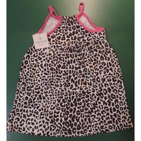 Vestido Animal Print, Niña, Marca Carters, Talle 3