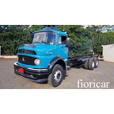 Mercedes-benz Mb 1313 1980/80 6x2 Chassis Completo