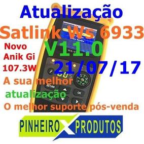 Atualização Satlink Ws6933/6923 Julho V11.0 22w + 63w 87.2w