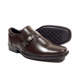 Sapato Social Infantil Tamanho Pequeno 25 A 36 Masculino