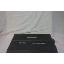 Amplificador Expolsound Xm-1600.4 4 Ch 1600w