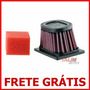 Filtro Ar Esportivo Kn K&n Bm-6501 - Bmw G650gs G 650 Gs