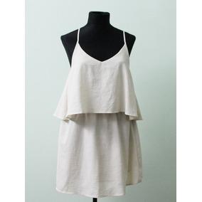 Elegante Vestido Yagmour Seg. Seleccion Color Crema - Envios