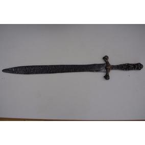 Espada Grande De Plástico Calaveras 82cm Cosplay