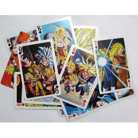 Cartas Dragon Ball Z Poker