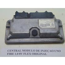 Central Modulo De Injeção Uno Fire 1.0 8v Flex Original