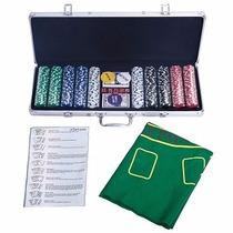 Juego De 500 Fichas De Póquer De Casino Ty317911