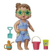 Baby Alive Bebê Sol E Areia - Hasbro E8718