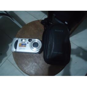 Câmera Sony Cybershot - Dsc -p 71 Com Bolsa Original- Japan