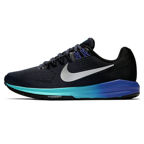 Zapatillas Nike Air Zoom Structure 21 Azul Mujer