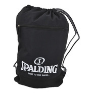 Mochila Morral Spalding Sport Bag Negro / Santiago Boxer