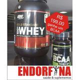 Whey 100% Gold Standard 907g +bcaa Mega Size 1000 Mg (60cp)