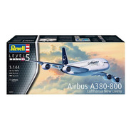 Airbus A380-800 Lufthansa New Livery Esc 1/144 Revell 3872