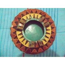 Ceniceros Artesanales De Cerámica Esmaltada 24cm. Diámetro