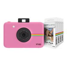 Cámara Instantánea Polaroid Snap +4 Papeles (80 Fotos)