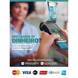 Preciso De Dinheiro Agora, Empréstimo, Cartão De Crédito
