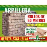 Arpillera 100cm De Ancho 8oz, 50 Mtrs.