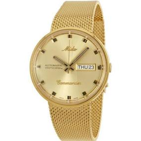 719a68750e2 Relógio Masculino Dourado - Relógio Mido Masculino no Mercado Livre ...