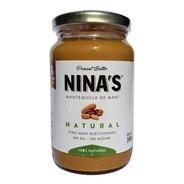 Crema De Mani X380g Nina's - Pasta De Mani Sin Tacc Natural