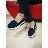 Bolichero De Vena Azul Zapatos Y Calzados De Moda Para Dama