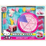 Just Play Hello Kitty Playset De La Fiesta De Cumpleaños