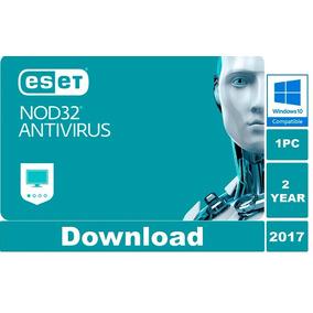 Eset Nod32 Antivirus V11 2018 Para 1 Pc 2 Años