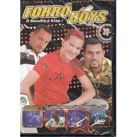 Dvd Forró Boys - Ao Vivo Em São Sebastião - Df / Dvd Vol.2