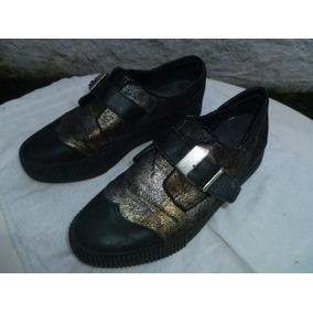 ce4a420bf9a89 Zapatos Mujer Con Plataforma. Talle 37.5 Plantilla 25