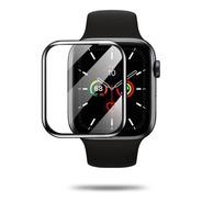 Vidrio Templado Curvo 3d Compatible Apple Watch 38 40 42 44