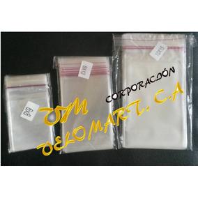 Bolsas De Celofán Autoadhesivas (con Pega) Tamaño 8x12