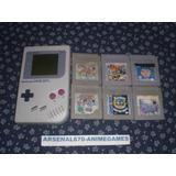 Game Boy Tabique + 6 Juegos Mario Street Tinny Ani Icarus Gb