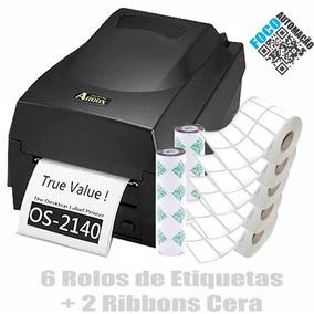 Impressora De Etiquetas E Código De Barras Argox Os2140 -kit