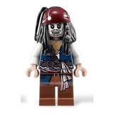 Jack Sparrow - Lego Piratas Del Caribe Minifigure