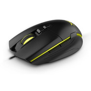Mouse Gamer Delux M522, 7 Botones, 7 Colores Led, 6400dpi