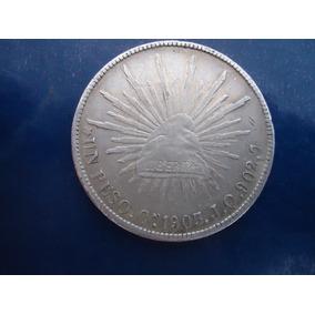 1 Peso Porfiriano,culiacan 1903,plata,escaso.