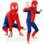 Fantasia Homem Aranha Spider Super Heroi Carnaval Infantil